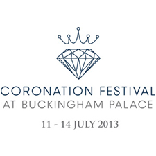 Purvis Marquees, Coronation Festival Logo