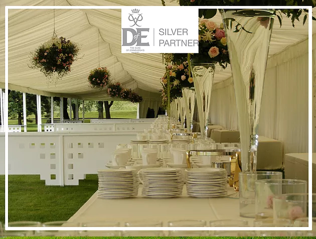 Purvis Marquees, Duke of Edinburgh's Award, Silver Partner