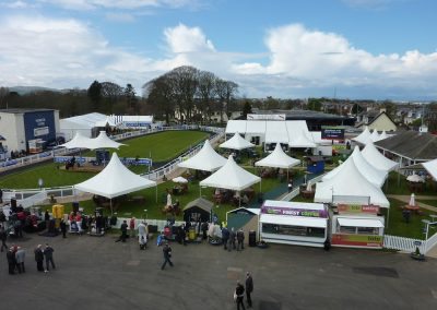 Purvis Marquees, Ayr Racecourse, Sports Events, Raceday Marquees