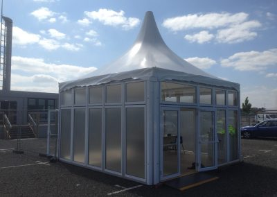 Purvis Marquees, Event Security, Security Check Point, Seach Venue
