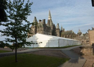 Fettes College, Graduation Marquee, Edinburgh
