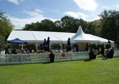 Hospitality Marquee - Concours of Elegance, Holyrood Palace, Edinburgh
