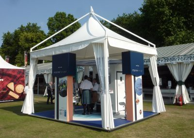 Purvis Marquees, Royal Event, Custom Event Design, Event Stand