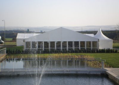 Purvis Marquees, Queen Margaret University, Graduation Marquee
