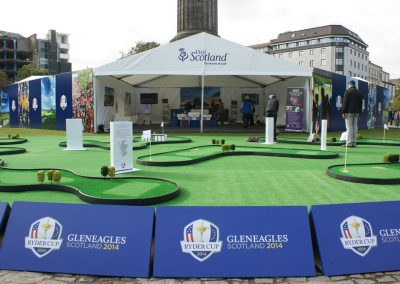 Visit Scotland, Ryder Cup, St Andrews Square, Edinburgh