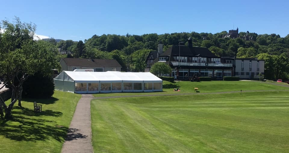 Wedding at Rugby Club, Edinburgh